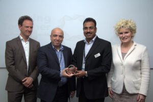 Milestone EMEA Distributor of the Year 2014 - NIT