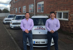 L-R Joe and Harry join MBSS team