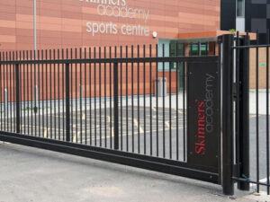 powered gate DHF