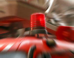 Fire Truck Emergency red Light